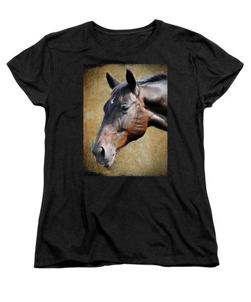 Lil Word Women's T-Shirt (Standard Cut) by Savannah Gibbs