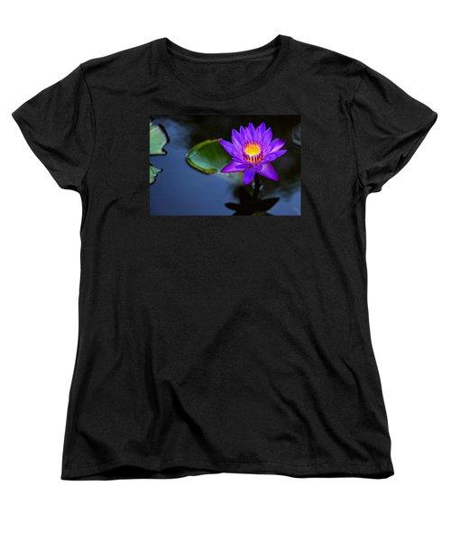Lily Awakens Women's T-Shirt (Standard Cut) by Dave Files