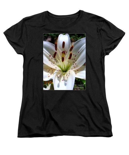 Women's T-Shirt (Standard Cut) featuring the photograph Lily by Patti Whitten