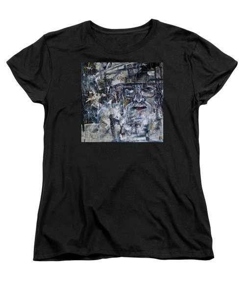 Listening Women's T-Shirt (Standard Cut) by Maxim Komissarchik