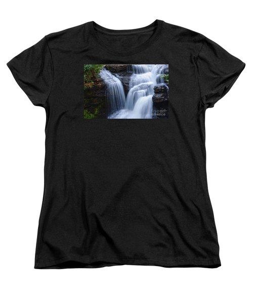 Women's T-Shirt (Standard Cut) featuring the photograph Little Niagara by Debra Fedchin