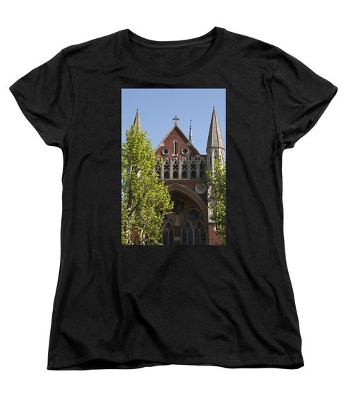 Women's T-Shirt (Standard Cut) featuring the photograph Little Venice Church by Maj Seda