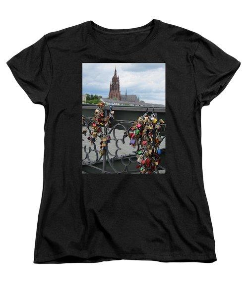 Locks Of Love 2 Women's T-Shirt (Standard Cut) by Pema Hou