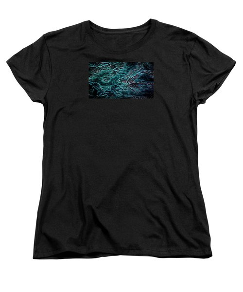 Women's T-Shirt (Standard Cut) featuring the photograph Locomotion by Steven Richardson