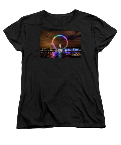 London Eye Pride Women's T-Shirt (Standard Cut) by Matt Malloy