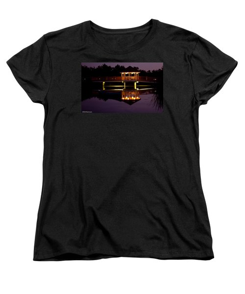 Women's T-Shirt (Standard Cut) featuring the photograph Lone Canoe by Brian Williamson