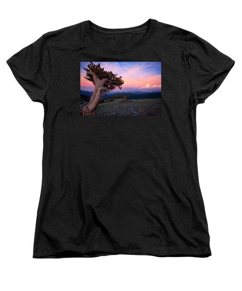 Lonesome Pine Women's T-Shirt (Standard Cut) by Jim Garrison