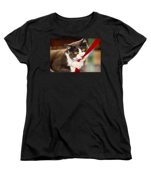 Look Into My Eyes Women's T-Shirt (Standard Cut) by Carsten Reisinger