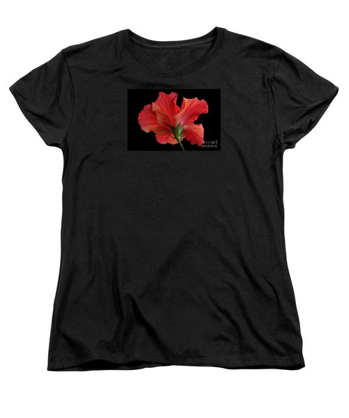 Women's T-Shirt (Standard Cut) featuring the photograph Looking Back by Judy Whitton