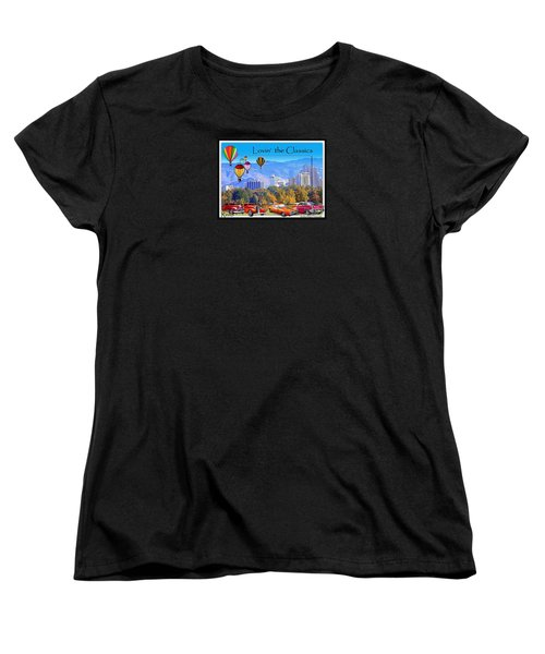 Lovin The Classics Women's T-Shirt (Standard Cut) by Bobbee Rickard