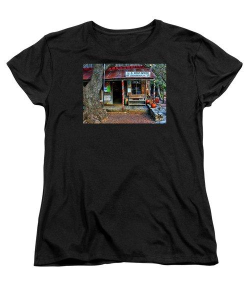 Luckenbach Texas Women's T-Shirt (Standard Cut) by Judy Vincent