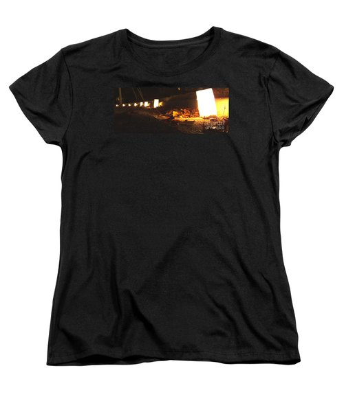 Women's T-Shirt (Standard Cut) featuring the photograph Luminaries by Andrea Anderegg