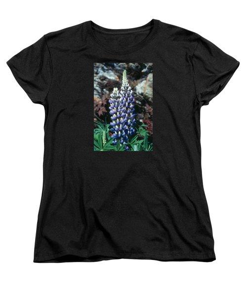 Lupine 2 Women's T-Shirt (Standard Cut) by Andy Shomock