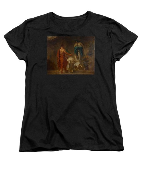 Lycurgus Consulting The Pythia Women's T-Shirt (Standard Cut) by Eugene Delacroix