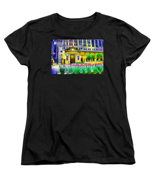 Lyric Opera House Of Chicago Women's T-Shirt (Standard Cut) by Ely Arsha
