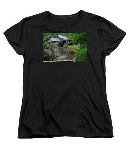 Mabry Mill In May Women's T-Shirt (Standard Cut) by John Haldane