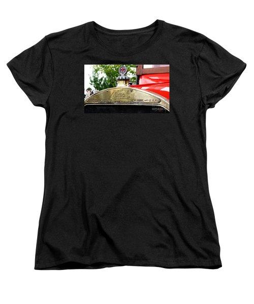 Mack Truck Grill Women's T-Shirt (Standard Cut) by Chris Thomas