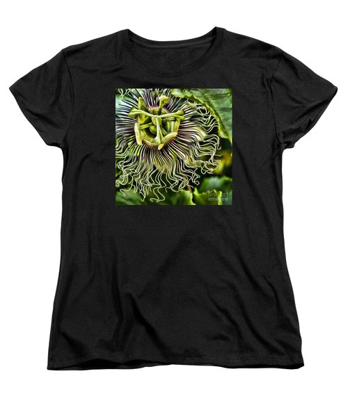 Mad Passion Women's T-Shirt (Standard Cut) by Peggy Hughes