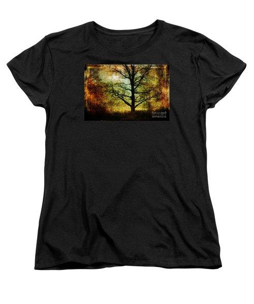 Magic Night Women's T-Shirt (Standard Cut) by Randi Grace Nilsberg