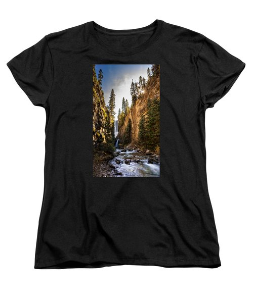Magnificent  Mystic Falls  Women's T-Shirt (Standard Cut) by Steven Reed