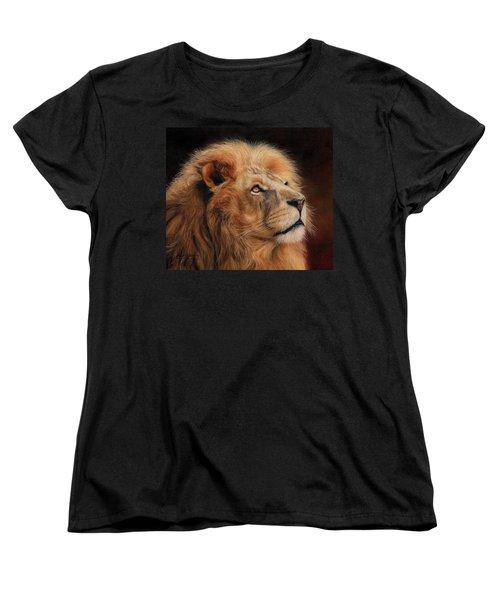 Majestic Lion Women's T-Shirt (Standard Cut)