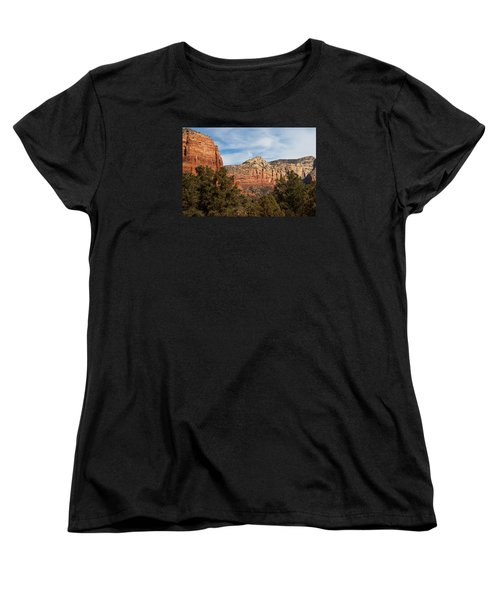 Women's T-Shirt (Standard Cut) featuring the photograph Majestic Sedona by Randy Bayne