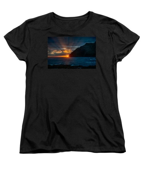 Makapuu Sunrise Women's T-Shirt (Standard Cut) by Dan McManus
