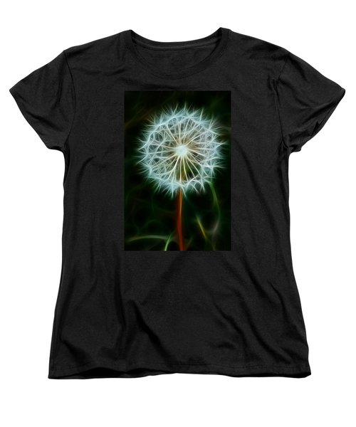 Make A Wish Women's T-Shirt (Standard Cut) by Joann Copeland-Paul