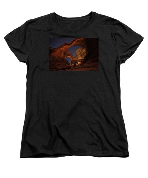 Women's T-Shirt (Standard Cut) featuring the photograph Gimme Another Double by David Andersen