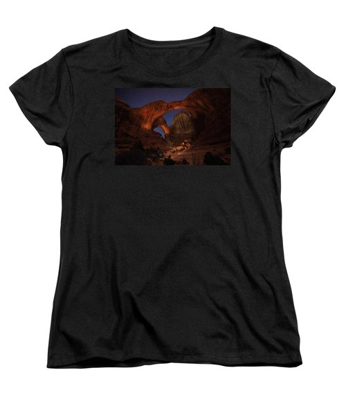 Women's T-Shirt (Standard Cut) featuring the photograph Make It A Double by David Andersen