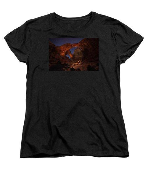 Women's T-Shirt (Standard Cut) featuring the photograph Make It A Double by David Andersen