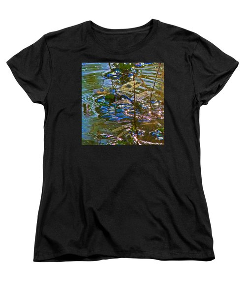 Women's T-Shirt (Standard Cut) featuring the photograph Making A Deposit For The Future by Gary Holmes