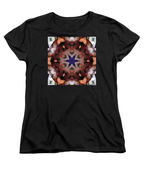 Mandala 14 Women's T-Shirt (Standard Cut) by Terry Reynoldson