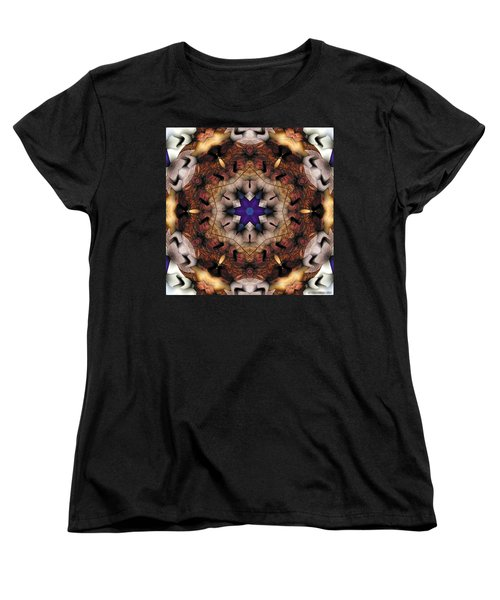 Mandala 16 Women's T-Shirt (Standard Cut) by Terry Reynoldson