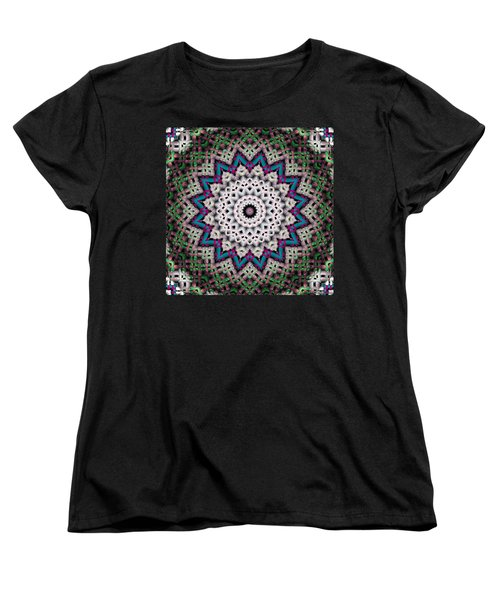 Mandala 37 Women's T-Shirt (Standard Cut) by Terry Reynoldson