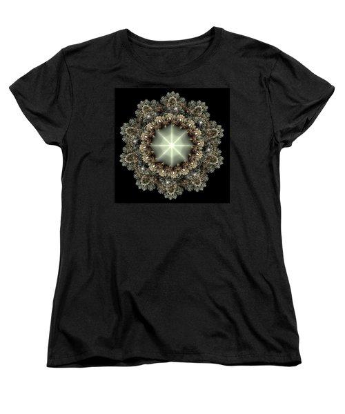 Mandala Women's T-Shirt (Standard Cut) by Svetlana Nikolova