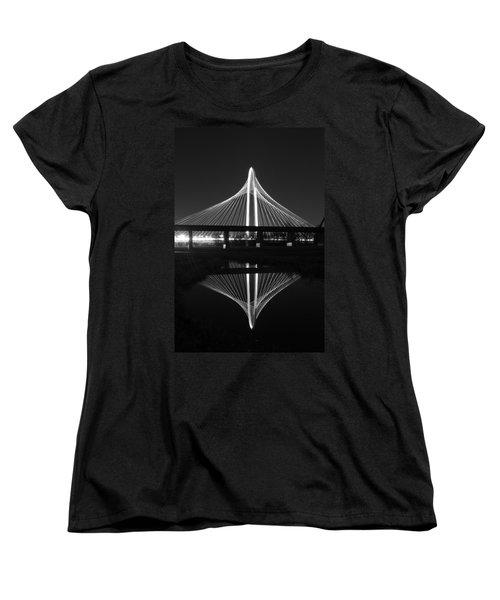 Margaret Hunt Hill Bridge Reflection Women's T-Shirt (Standard Cut) by Jonathan Davison