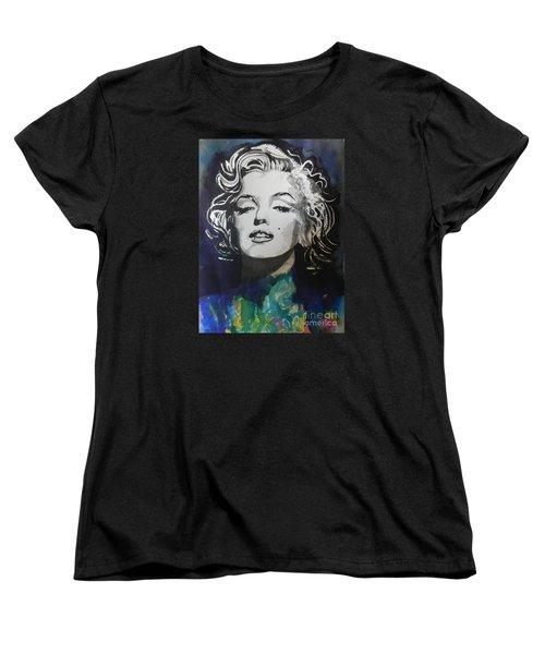 Marilyn Monroe..2 Women's T-Shirt (Standard Cut) by Chrisann Ellis
