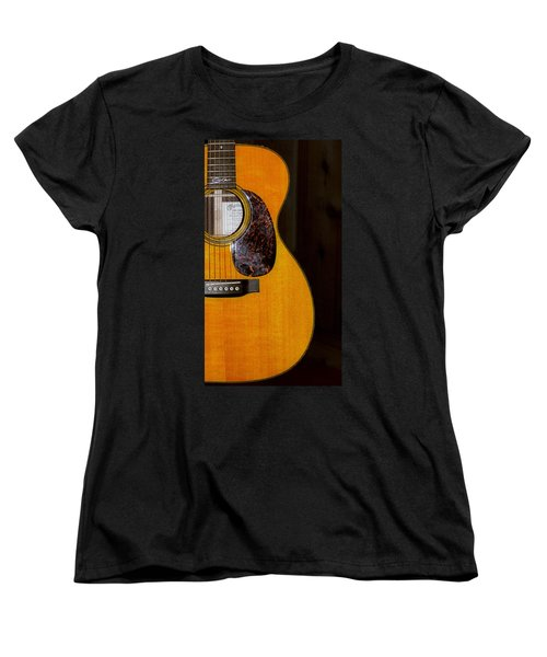 Martin Guitar  Women's T-Shirt (Standard Cut) by Bill Cannon