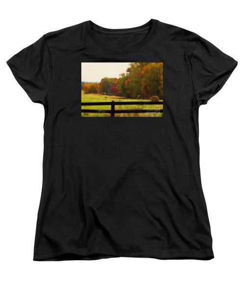 Maryland Countryside Women's T-Shirt (Standard Cut) by Patti Whitten