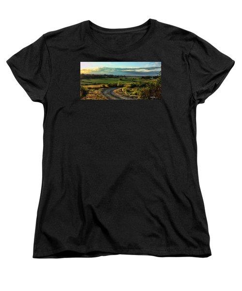 Marysville Valley Women's T-Shirt (Standard Cut) by Charlie Duncan