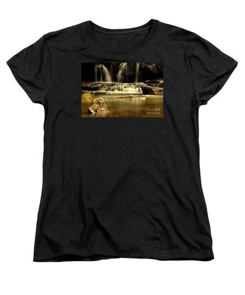 Mash Fork Falls Women's T-Shirt (Standard Cut)
