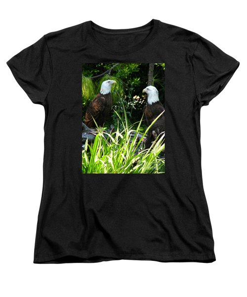 Women's T-Shirt (Standard Cut) featuring the photograph Mates by Greg Patzer