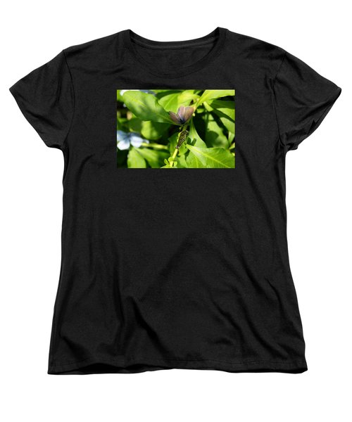 Women's T-Shirt (Standard Cut) featuring the photograph Mating Dance by Greg Allore