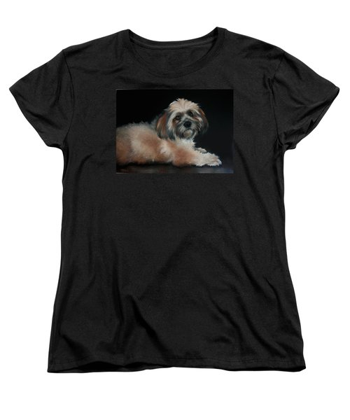 Women's T-Shirt (Standard Cut) featuring the drawing Maxi by Cynthia House