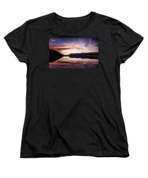 Mcdonald Palette Women's T-Shirt (Standard Cut) by Aaron Aldrich
