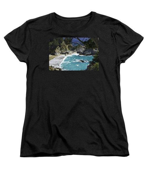 Mcway Falls - Big Sur Women's T-Shirt (Standard Cut)