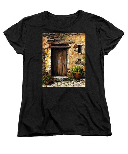 Mediterranean Portal Women's T-Shirt (Standard Cut) by Emerico Imre Toth