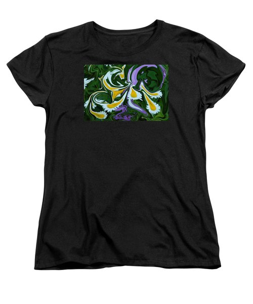 Women's T-Shirt (Standard Cut) featuring the photograph Melting Daisies by Aimee L Maher Photography and Art Visit ALMGallerydotcom