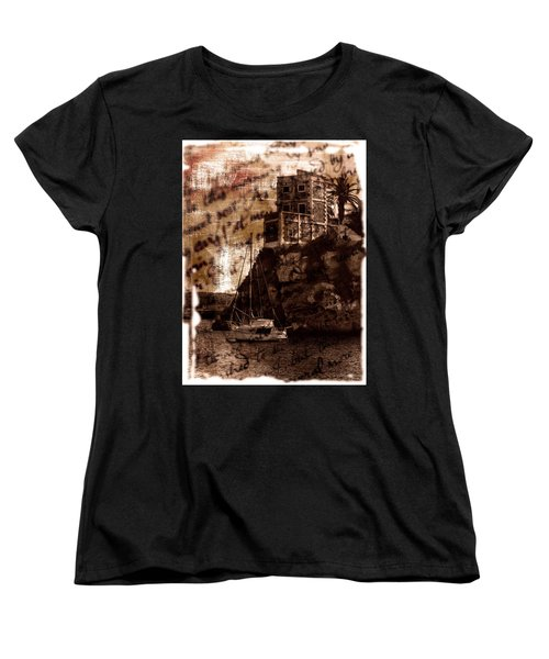 Women's T-Shirt (Standard Cut) featuring the photograph Memories By The Sea by Pedro Cardona